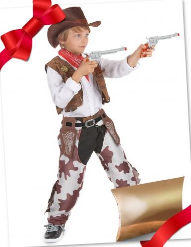 Cofanetto regalo travestimento e accessori da cowboy