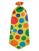 Cravatta da clown per adulti