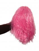 Pompon rosa metallizzato