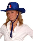 Cappello da cowboy per i tifosi della Francia