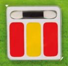Palette di trucco per i tifosi della Spagna
