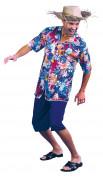 Costume turista hawaiano uomo