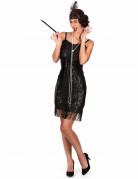 Costume charleston donna con paillettes