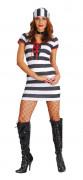 Costume donna prigioniera sexy