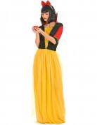 Costume principessa delle fiabe donna giallo e nero