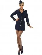 Costume hostess di aereo sexy donna