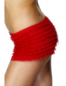 Shorty rosso adulto
