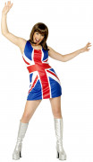 Costume starlette sexy inglese donna