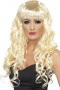 Parrucca bionda da sirena donna