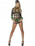 Costume sexy militare da donna
