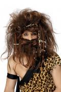 Parrucca e barba uomo delle caverne