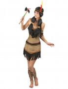 Costume principessa indiana cacciatrice per donna