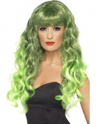 Parrucca verde da sirena - San Patrizio e Halloween