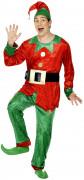 Costume folletto uomo Natale