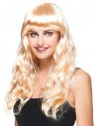 Parrucca bionda lunga donna
