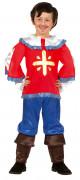 Costume moschettiere ragazzo