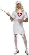 Costume infermiera uomo