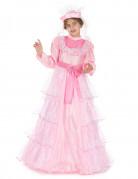 Costume principessa rosa per ragazza