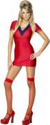 Costume rosso sexy da donna