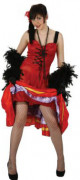 Costume cabaret can-can francese donna