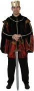 Costume re medievale uomo