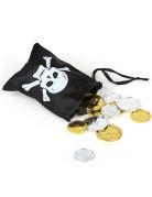 Tesoro dei pirati con bisaccia