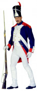 Costume da soldato della rivoluzione per uomo