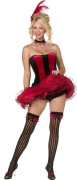 Costume cabaret french cancan donna