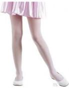 Collant rosa opachi da bambina