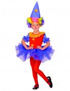 Costume da clown con tutù bambina