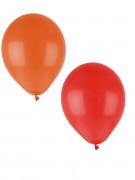 24 palloncini pastello arancioni