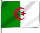 Bandiera da tifoso Algeria 30 X 46 cm