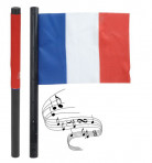 Bandiera tifoso sonora della nazionale francese
