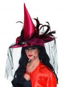 Cappello strega lusso adulto Halloween