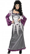 Costume vampiro grigio donna Halloween