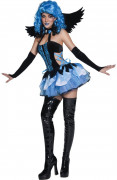 Costume angelo della notte donna Halloween