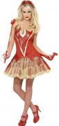 Costume diavolessa sexy donna Halloween
