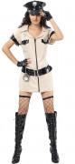 Costume poliziotta sexy donna