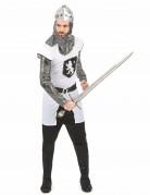 Costume cavaliere con stemma leonino uomo