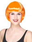 Parrucca corta arancione donna