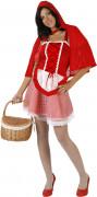 Costume cappuccetto rosso sexy donna