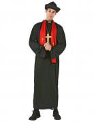 Costume prete con stola rossa uomo