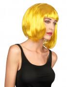 Parrucca gialla donna
