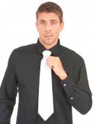 Cravatta bianca gangster adulto