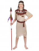 Costume indiana pallida ragazza