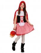 Costume Cappuccetto Rosso a quadretti bambina