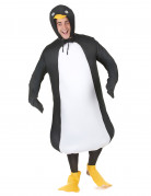 Costume a sbuffo da pinguino adulto