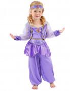 Costume viola danzatrice orientale bambina
