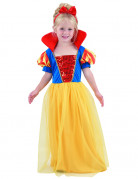 Costume lungo da principessa bambina