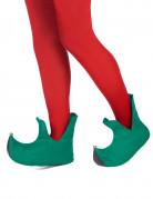Scarpe da elfo di Natale per adulto